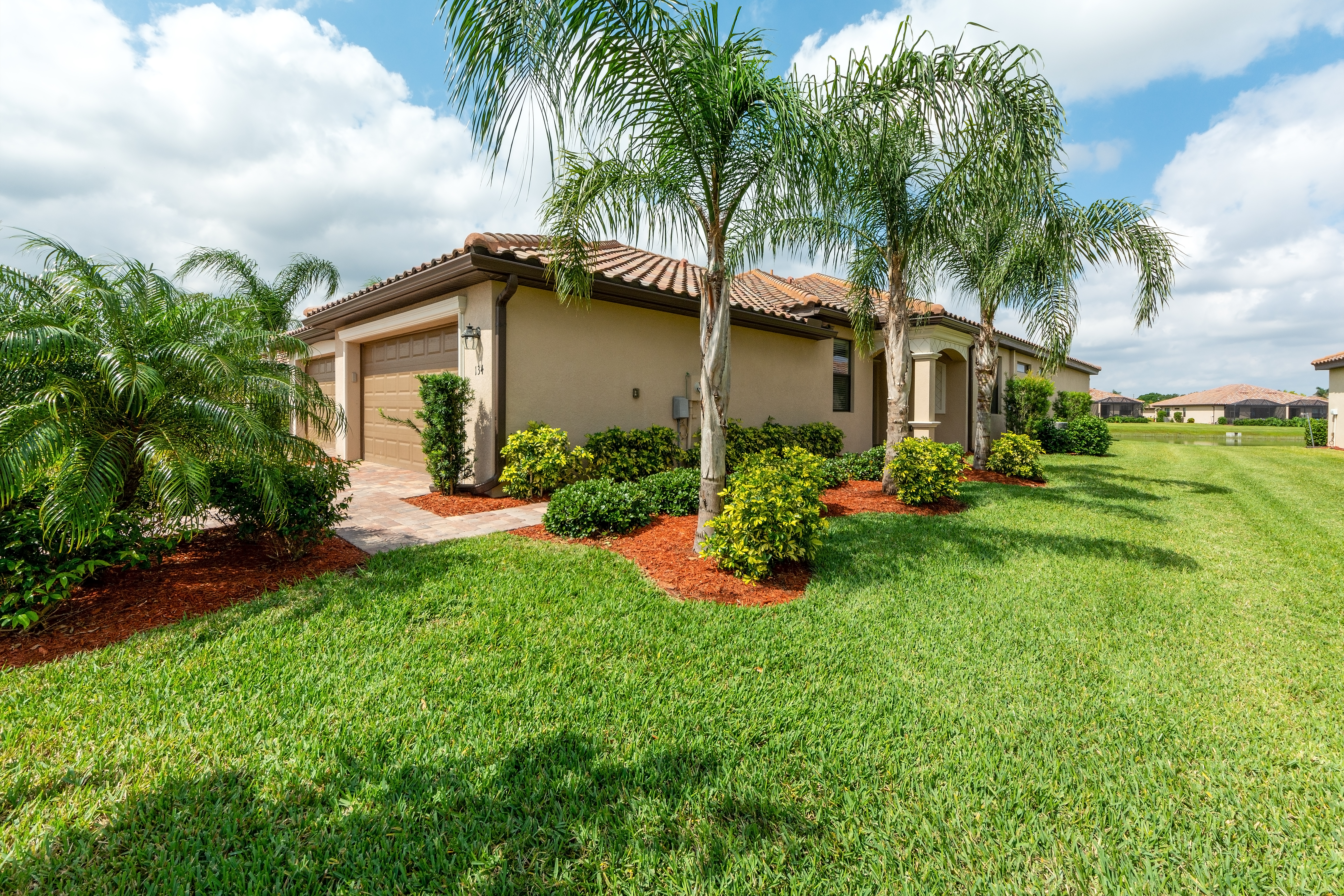 A Lovely Home in River Strand Surrounded by Palm Trees