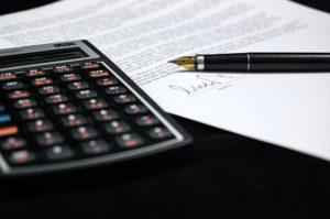 RIVER STRAND HOME SEARCH - Document - Pen - Calculator