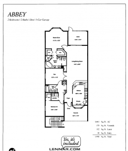 Abbey layout