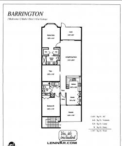 Barrington layout