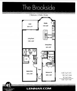 Brookside layout