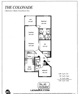 Colonade layout